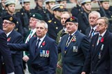 Remembrance Sunday at the Cenotaph 2015: Group D10, South Atlantic Medal Association. Cenotaph, Whitehall, London SW1, London, Greater London, United Kingdom, on 08 November 2015 at 11:53, image #635