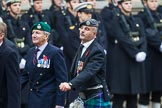 Remembrance Sunday at the Cenotaph 2015: Group D10, South Atlantic Medal Association. Cenotaph, Whitehall, London SW1, London, Greater London, United Kingdom, on 08 November 2015 at 11:53, image #637