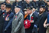 Remembrance Sunday at the Cenotaph 2015: Group D13, Association of Jewish Ex-Servicemen & Women. Cenotaph, Whitehall, London SW1, London, Greater London, United Kingdom, on 08 November 2015 at 11:53, image #647