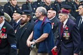 Remembrance Sunday at the Cenotaph 2015: Group D13, Association of Jewish Ex-Servicemen & Women. Cenotaph, Whitehall, London SW1, London, Greater London, United Kingdom, on 08 November 2015 at 11:53, image #648