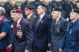Remembrance Sunday at the Cenotaph 2015: Group D13, Association of Jewish Ex-Servicemen & Women. Cenotaph, Whitehall, London SW1, London, Greater London, United Kingdom, on 08 November 2015 at 11:53, image #649