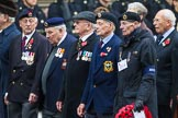 Remembrance Sunday at the Cenotaph 2015: Group D14, British Nuclear Test Veterans Association. Cenotaph, Whitehall, London SW1, London, Greater London, United Kingdom, on 08 November 2015 at 11:53, image #652