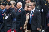 Remembrance Sunday at the Cenotaph 2015: Group D14, British Nuclear Test Veterans Association. Cenotaph, Whitehall, London SW1, London, Greater London, United Kingdom, on 08 November 2015 at 11:53, image #653