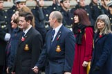 Remembrance Sunday at the Cenotaph 2015: Group D14, British Nuclear Test Veterans Association. Cenotaph, Whitehall, London SW1, London, Greater London, United Kingdom, on 08 November 2015 at 11:53, image #654