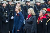 Remembrance Sunday at the Cenotaph 2015: Group D15, War Widows Association. Cenotaph, Whitehall, London SW1, London, Greater London, United Kingdom, on 08 November 2015 at 11:53, image #656