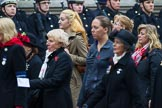 Remembrance Sunday at the Cenotaph 2015: Group D15, War Widows Association. Cenotaph, Whitehall, London SW1, London, Greater London, United Kingdom, on 08 November 2015 at 11:53, image #658