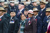 Remembrance Sunday at the Cenotaph 2015: Group D16, Gurkha Brigade Association. Cenotaph, Whitehall, London SW1, London, Greater London, United Kingdom, on 08 November 2015 at 11:54, image #685