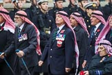 Remembrance Sunday at the Cenotaph 2015: Group D19, Trucial Oman Scouts Association. Cenotaph, Whitehall, London SW1, London, Greater London, United Kingdom, on 08 November 2015 at 11:55, image #703