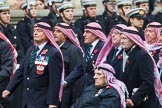 Remembrance Sunday at the Cenotaph 2015: Group D19, Trucial Oman Scouts Association. Cenotaph, Whitehall, London SW1, London, Greater London, United Kingdom, on 08 November 2015 at 11:55, image #704