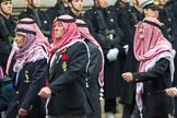 Remembrance Sunday at the Cenotaph 2015: Group D19, Trucial Oman Scouts Association. Cenotaph, Whitehall, London SW1, London, Greater London, United Kingdom, on 08 November 2015 at 11:55, image #706