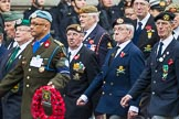 Remembrance Sunday at the Cenotaph 2015: Group D20, Bond Van Wapenbroeders. Cenotaph, Whitehall, London SW1, London, Greater London, United Kingdom, on 08 November 2015 at 11:55, image #713