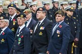 Remembrance Sunday at the Cenotaph 2015: Group D20, Bond Van Wapenbroeders. Cenotaph, Whitehall, London SW1, London, Greater London, United Kingdom, on 08 November 2015 at 11:55, image #715