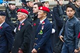 Remembrance Sunday at the Cenotaph 2015: Group D26, Hong Kong Military Service Corps. Cenotaph, Whitehall, London SW1, London, Greater London, United Kingdom, on 08 November 2015 at 11:56, image #736