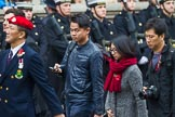Remembrance Sunday at the Cenotaph 2015: Group D26, Hong Kong Military Service Corps. Cenotaph, Whitehall, London SW1, London, Greater London, United Kingdom, on 08 November 2015 at 11:56, image #737