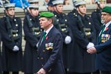 Remembrance Sunday at the Cenotaph 2015: Group D27, Foreign Legion Association. Cenotaph, Whitehall, London SW1, London, Greater London, United Kingdom, on 08 November 2015 at 11:56, image #738