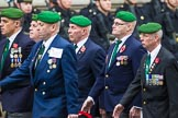Remembrance Sunday at the Cenotaph 2015: Group D27, Foreign Legion Association. Cenotaph, Whitehall, London SW1, London, Greater London, United Kingdom, on 08 November 2015 at 11:56, image #741