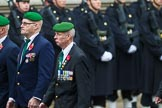 Remembrance Sunday at the Cenotaph 2015: Group D27, Foreign Legion Association. Cenotaph, Whitehall, London SW1, London, Greater London, United Kingdom, on 08 November 2015 at 11:56, image #742