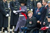 Remembrance Sunday at the Cenotaph 2015: Group F1, Blind Veterans UK. Cenotaph, Whitehall, London SW1, London, Greater London, United Kingdom, on 08 November 2015 at 11:57, image #749
