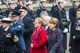 Remembrance Sunday at the Cenotaph 2015: Group F1, Blind Veterans UK. Cenotaph, Whitehall, London SW1, London, Greater London, United Kingdom, on 08 November 2015 at 11:57, image #762