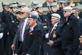 Remembrance Sunday at the Cenotaph 2015: Group F1, Blind Veterans UK. Cenotaph, Whitehall, London SW1, London, Greater London, United Kingdom, on 08 November 2015 at 11:57, image #767