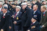 Remembrance Sunday at the Cenotaph 2015: Group F1, Blind Veterans UK. Cenotaph, Whitehall, London SW1, London, Greater London, United Kingdom, on 08 November 2015 at 11:57, image #768