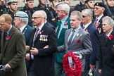 Remembrance Sunday at the Cenotaph 2015: Group F1, Blind Veterans UK. Cenotaph, Whitehall, London SW1, London, Greater London, United Kingdom, on 08 November 2015 at 11:57, image #769