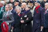 Remembrance Sunday at the Cenotaph 2015: Group F1, Blind Veterans UK. Cenotaph, Whitehall, London SW1, London, Greater London, United Kingdom, on 08 November 2015 at 11:57, image #770