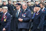 Remembrance Sunday at the Cenotaph 2015: Group F1, Blind Veterans UK. Cenotaph, Whitehall, London SW1, London, Greater London, United Kingdom, on 08 November 2015 at 11:57, image #774