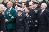 Remembrance Sunday at the Cenotaph 2015: Group F1, Blind Veterans UK. Cenotaph, Whitehall, London SW1, London, Greater London, United Kingdom, on 08 November 2015 at 11:57, image #778