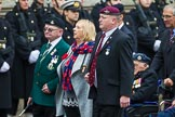 Remembrance Sunday at the Cenotaph 2015: Group F1, Blind Veterans UK. Cenotaph, Whitehall, London SW1, London, Greater London, United Kingdom, on 08 November 2015 at 11:57, image #779