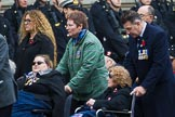 Remembrance Sunday at the Cenotaph 2015: Group F1, Blind Veterans UK. Cenotaph, Whitehall, London SW1, London, Greater London, United Kingdom, on 08 November 2015 at 11:57, image #783