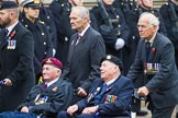 Remembrance Sunday at the Cenotaph 2015: Group F1, Blind Veterans UK. Cenotaph, Whitehall, London SW1, London, Greater London, United Kingdom, on 08 November 2015 at 11:58, image #789