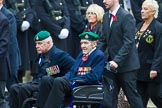 Remembrance Sunday at the Cenotaph 2015: Group E1, Royal Marines Association. Cenotaph, Whitehall, London SW1, London, Greater London, United Kingdom, on 08 November 2015 at 11:58, image #799