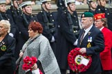 Remembrance Sunday at the Cenotaph 2015: Group E1, Royal Marines Association. Cenotaph, Whitehall, London SW1, London, Greater London, United Kingdom, on 08 November 2015 at 11:58, image #801