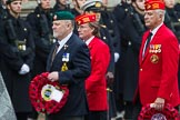 Remembrance Sunday at the Cenotaph 2015: Group E2, Royal Naval Association. Cenotaph, Whitehall, London SW1, London, Greater London, United Kingdom, on 08 November 2015 at 11:58, image #802