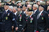 Remembrance Sunday at the Cenotaph 2015: Group E2, Royal Naval Association. Cenotaph, Whitehall, London SW1, London, Greater London, United Kingdom, on 08 November 2015 at 11:58, image #806