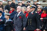 Remembrance Sunday at the Cenotaph 2015: Group E3, Merchant Navy Association. Cenotaph, Whitehall, London SW1, London, Greater London, United Kingdom, on 08 November 2015 at 11:59, image #822