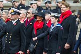 Remembrance Sunday at the Cenotaph 2015: Group E3, Merchant Navy Association. Cenotaph, Whitehall, London SW1, London, Greater London, United Kingdom, on 08 November 2015 at 11:59, image #823
