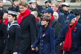 Remembrance Sunday at the Cenotaph 2015: Group E3, Merchant Navy Association. Cenotaph, Whitehall, London SW1, London, Greater London, United Kingdom, on 08 November 2015 at 11:59, image #824