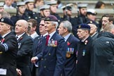 Remembrance Sunday at the Cenotaph 2015: Group E7, HMS Argonaut Association. Cenotaph, Whitehall, London SW1, London, Greater London, United Kingdom, on 08 November 2015 at 11:59, image #844