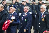 Remembrance Sunday at the Cenotaph 2015: Group E9, HMS Cumberland Association. Cenotaph, Whitehall, London SW1, London, Greater London, United Kingdom, on 08 November 2015 at 11:59, image #848