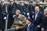 Remembrance Sunday at the Cenotaph 2015: Group E10, HMS Ganges Association. Cenotaph, Whitehall, London SW1, London, Greater London, United Kingdom, on 08 November 2015 at 11:59, image #849