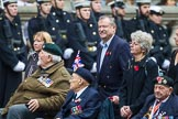 Remembrance Sunday at the Cenotaph 2015: Group E10, HMS Ganges Association. Cenotaph, Whitehall, London SW1, London, Greater London, United Kingdom, on 08 November 2015 at 11:59, image #850