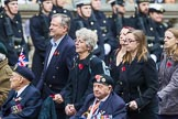Remembrance Sunday at the Cenotaph 2015: Group E10, HMS Ganges Association. Cenotaph, Whitehall, London SW1, London, Greater London, United Kingdom, on 08 November 2015 at 11:59, image #851
