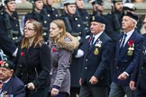 Remembrance Sunday at the Cenotaph 2015: Group E10, HMS Ganges Association. Cenotaph, Whitehall, London SW1, London, Greater London, United Kingdom, on 08 November 2015 at 11:59, image #852
