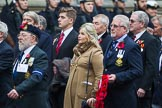 Remembrance Sunday at the Cenotaph 2015: Group E10, HMS Ganges Association. Cenotaph, Whitehall, London SW1, London, Greater London, United Kingdom, on 08 November 2015 at 11:59, image #854