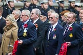 Remembrance Sunday at the Cenotaph 2015: Group E10, HMS Ganges Association. Cenotaph, Whitehall, London SW1, London, Greater London, United Kingdom, on 08 November 2015 at 12:00, image #855