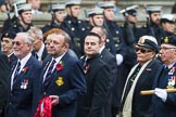 Remembrance Sunday at the Cenotaph 2015: Group E10, HMS Ganges Association. Cenotaph, Whitehall, London SW1, London, Greater London, United Kingdom, on 08 November 2015 at 12:00, image #856