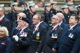 Remembrance Sunday at the Cenotaph 2015: Group E11, HMS Glasgow Association. Cenotaph, Whitehall, London SW1, London, Greater London, United Kingdom, on 08 November 2015 at 12:00, image #858