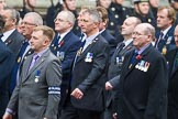 Remembrance Sunday at the Cenotaph 2015: Group E11, HMS Glasgow Association. Cenotaph, Whitehall, London SW1, London, Greater London, United Kingdom, on 08 November 2015 at 12:00, image #860